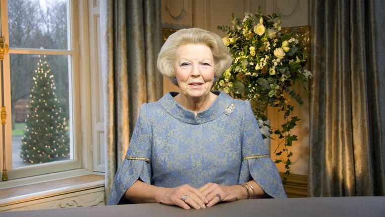 De koningin wees in haar 'groene' kerstboodschap slechts op de kwetsbaarheid van de natuur en de aarde en op het belang van duurzaamheid. Beeld ANP Communique