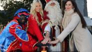 Sinterklaas, Zwarte Piet en Miss België-kandidate Celine Van Ouytsel luiden kerstperiode in