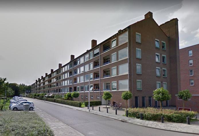 De flat aan de Orion in Amersfoort is van woningcorporatie De Alliantie.
