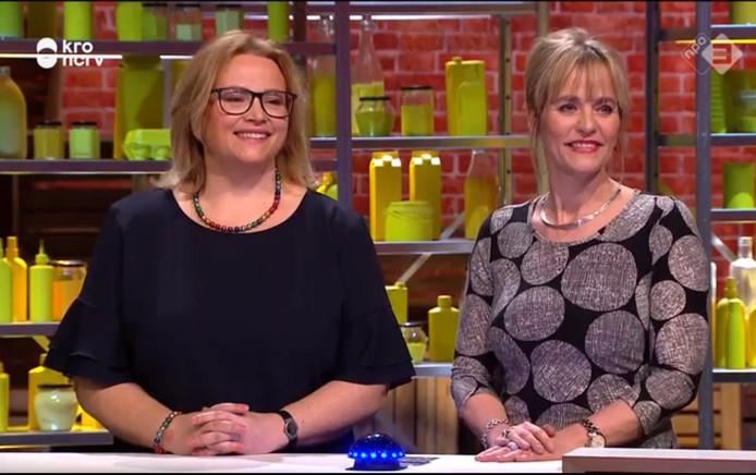 Myriam en Ingeborg van Rutte.
