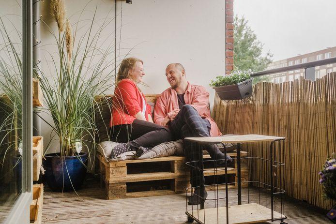 Rosanne Procee en Klaas Prins.