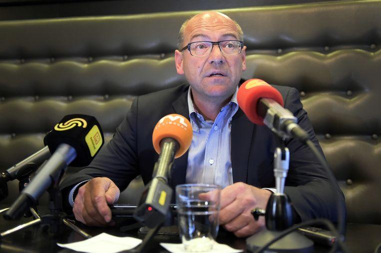 Dirk Degraen, afscheidnemend algemeen directeur bij RC Genk