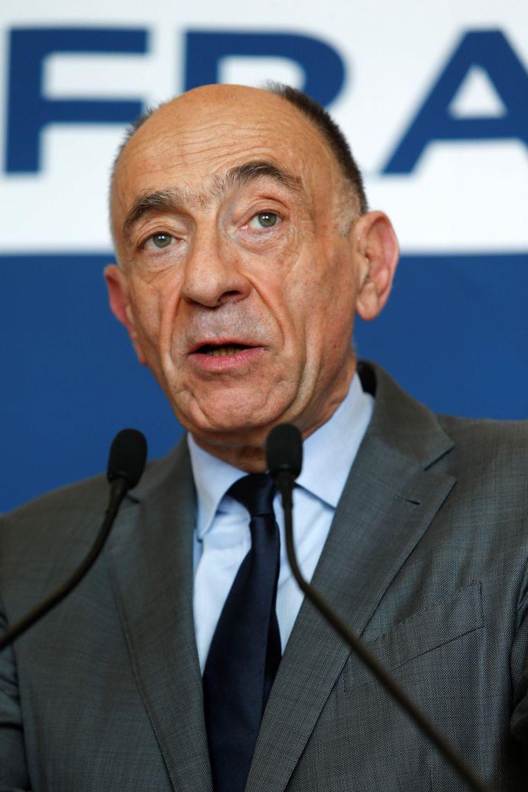 Jean-Marc Janaillac Beeld AFP