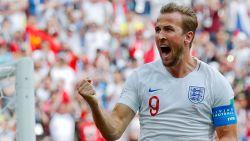 Engeland freewheelt voorbij Panama na hattrick Kane, die Lukaku en Ronaldo de loef afsteekt en WK-topschutter is
