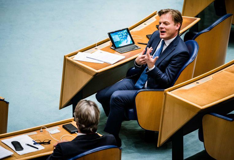 Pieter Omtzigt in de Tweede Kamer. De afgelopen jaren bouwde de CDA-politicus een reputatie op van een van de meest diepgravende en vasthoudende volksvertegenwoordigers op het Binnenhof. Beeld ANP