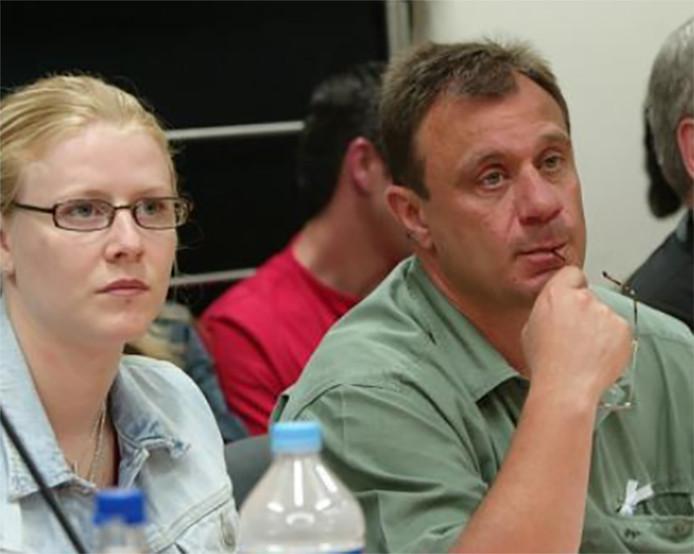 Laetitia Delhez et Jean-Denis Lejeune