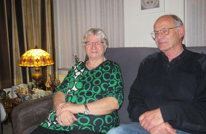 Gouden paar Antoon en Nelly Borrenbergs-Valkenaars.