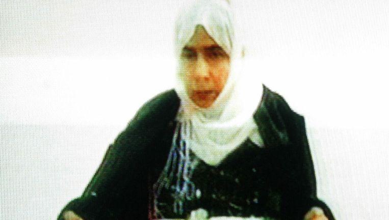 Sajida al-Rishawi moest als pasmunt dienen voor de inmiddels gedode piloot.