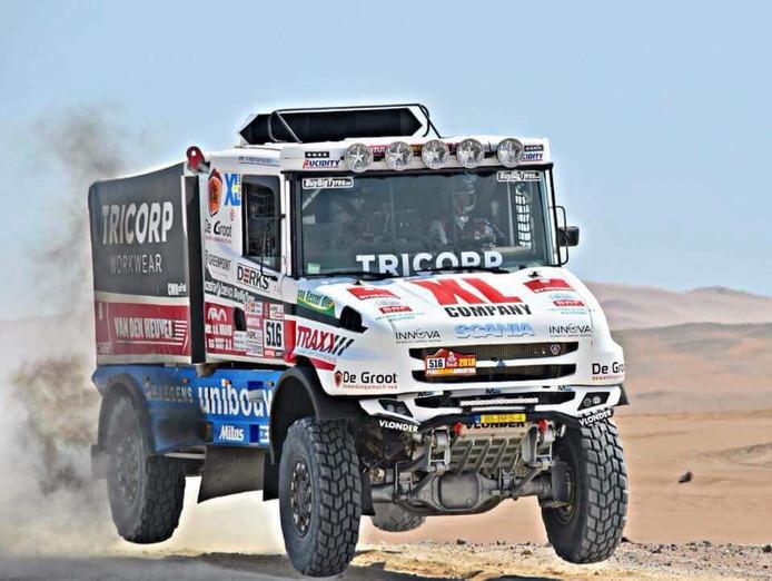 Maurik van den Heuvel staat met Team Dakarspeed in januari niet aan de start van de Dakar Rally in Peru.
