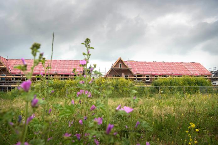 Archiefbeeld van de Hoge Rot, de nieuwbouwwijk van Hernen.