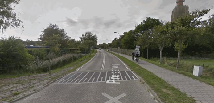 De Prelaatweg in Westkapelle.