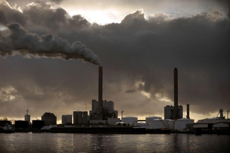 Elektriciteitscentrale in Amsterdam. Beeld Joost van den Broek