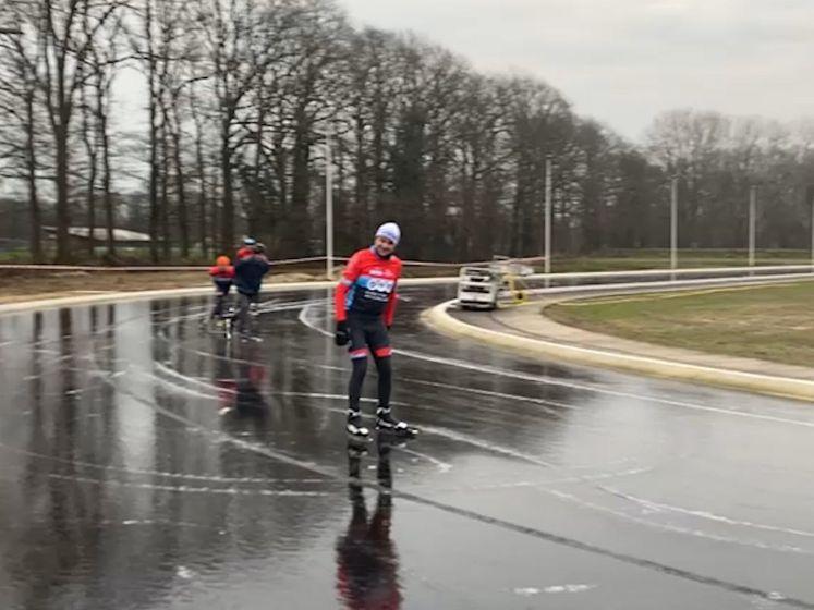 Schaatsen op natuurijs in Winterswijk is van korte duur