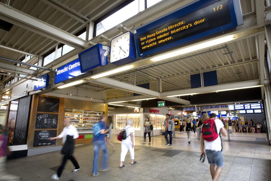 Station Utrecht Centraal, vorig jaar augustus.