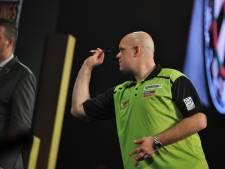 Van Gerwen 'boos' op koppelgenoot na nederlaag in Den Bosch