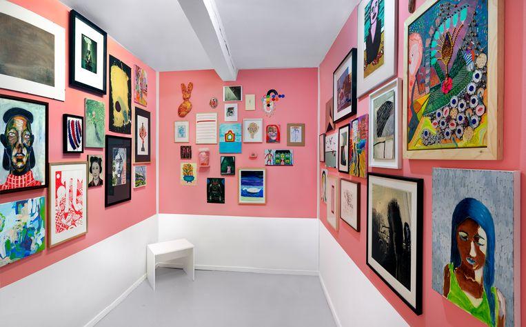 De kamer van Tanja Ritterbex. Beeld Gert Jan van Rooij