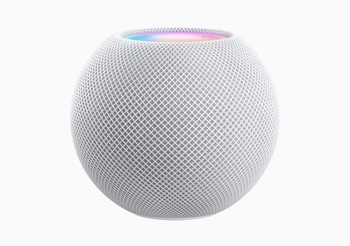 Nieuwe slimme speaker: HomePod Mini.