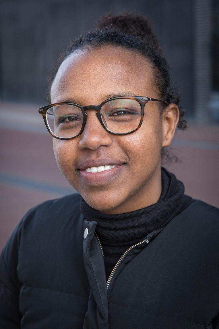 Siman Abdi (27) Beeld Dingena Mol