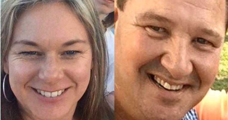 Vroedvrouw Sarah Glass (links) redde het leven van haar vriend Isak Bester (rechts).