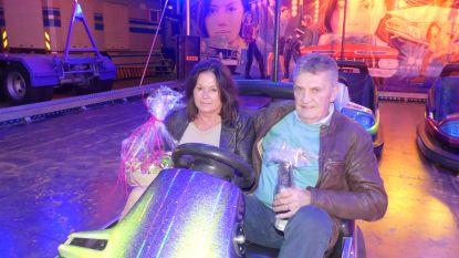 Jean-Pierre en Bernadette laten voor de honderdste keer botsauto's rijden
