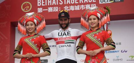 Tweede ritzege Gaviria in China
