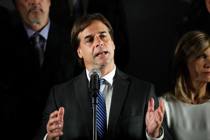 Le président élu de l'Uruguay, Lacalle Pou.