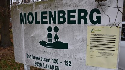 Protest sloop kinderdorp Molenberg