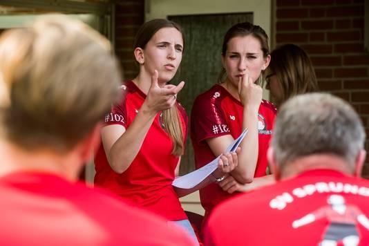 Susanne Peeters en Ilse Melissen