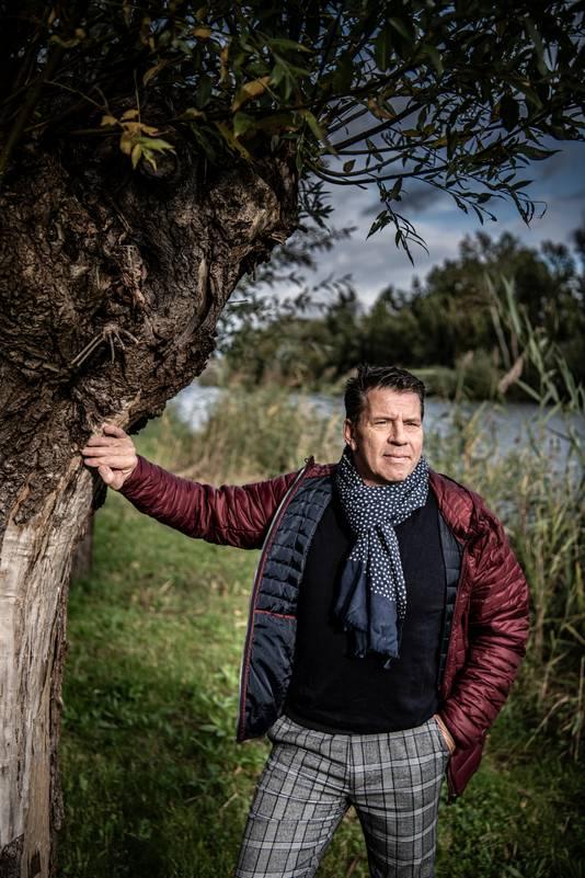 Erick Loermans aan de boorden van het Wijchens Meer: ,,Ik voelde me beschadigd. En het was niet terecht.''