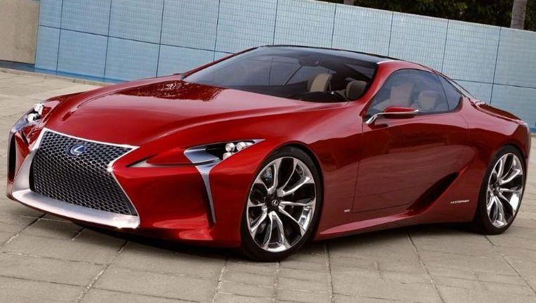 Lexus Onthult Met Lf Lc Hybride Sportwagen In Detroit Auto Hln