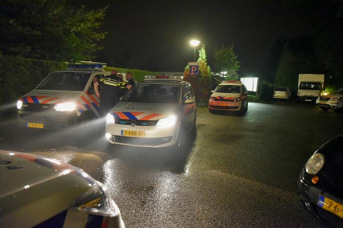 Hoewel er veel politieagenten op de been waren in Oisterwijk, is er niemand aangehouden.