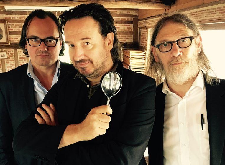 Vitalski, samen met Johan Braeckman en Jean Paul Van Bendegem.