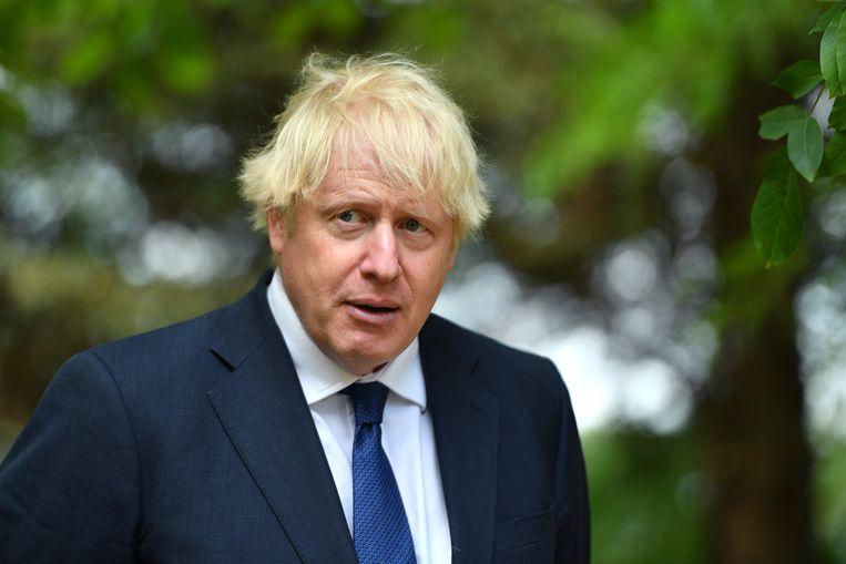 Donners opmerking over blazen met meel in de mond komt op hetzelfde neer als Boris Johnsons favoriete uitdrukking: 'Have your cake and eat it.' Beeld AFP