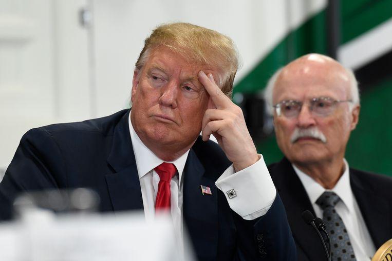 President Donald Trump Beeld AP