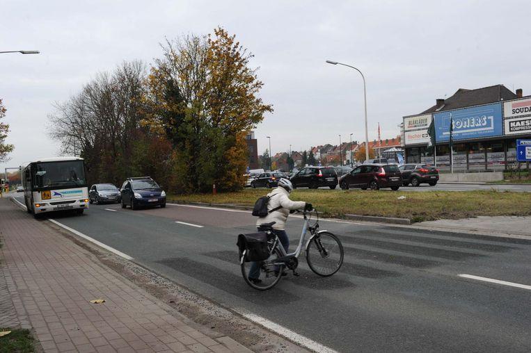Het Agentschap Wegen en Verkeer heeft de oversteekplaats dan wel overschilderd, buurtbewoners blijven ze wel gebruiken.