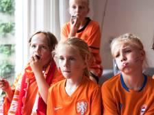 Orkaan van geluid in De Meern bij 2-1 zege van Oranje