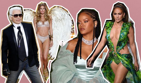 VLNR: Karl Lagerfeld, Doutzen Kroes voor Victoria's Secret, Rihanna en Jennifer Lopez.