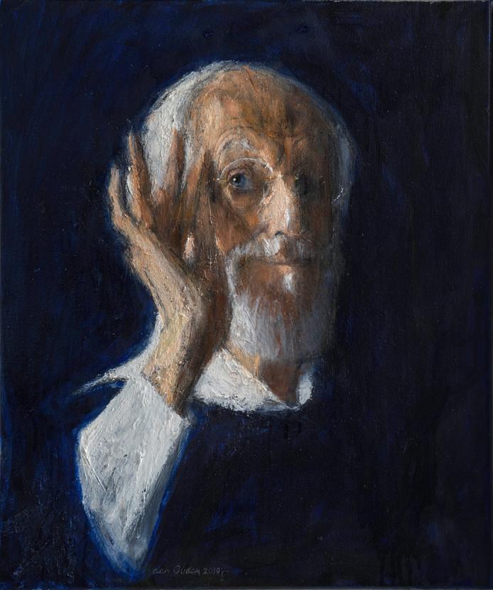 Een zelfportret van Willem den Ouden.