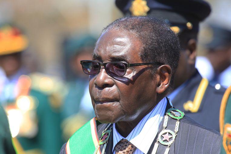 Zimbabwaans president Robert Mugabe.