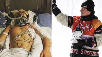 Hét verhaal van de Winterspelen tot dusver: in maart 2017 was snowboarder bijna dood, vandaag mocht hij medaille in ontvangst nemen