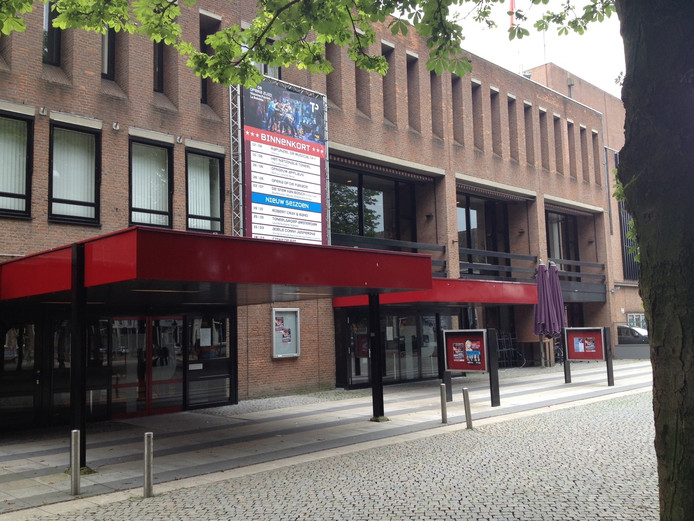 Het theater is dicht