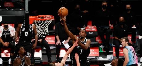 Supertrio weer op schot voor Brooklyn Nets in NBA