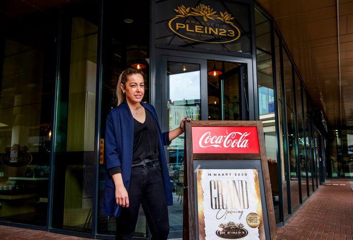 Jamie-Lee van Kleef opende haar Brasserie Plein 23 nèt op het moment dat alle horeca dicht moest vanwege het coronavirus.