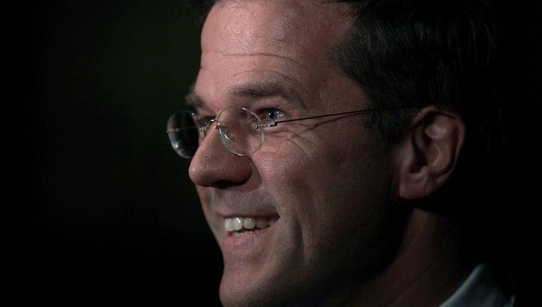 De Nederlandse premier Mark Rutte.