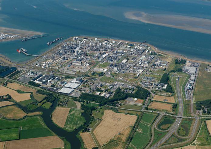 Dow-industriepark in Terneuzen.