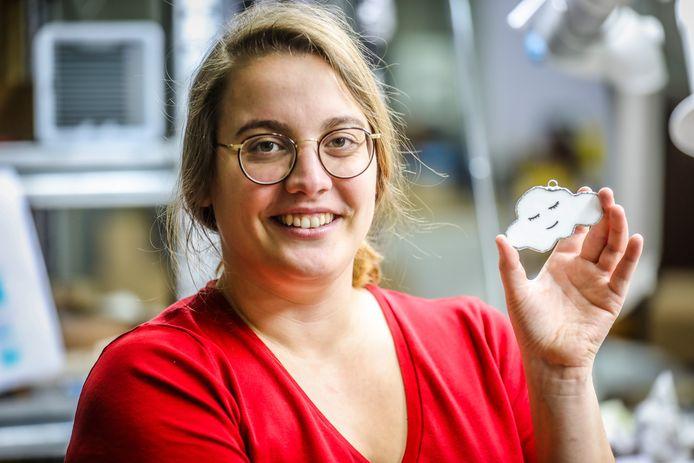 Birgit Verplancke maakt wolken
