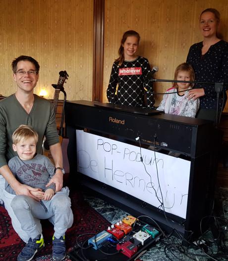 Geslaagde comeback Muziek bij de Buren Nijmegen-Lent