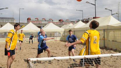 Beachvoetbal voor jongens en meisjes van 6 tot 14 jaar