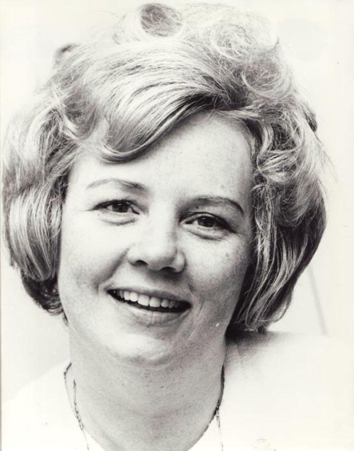 Een jonge Cristina Deutekom.