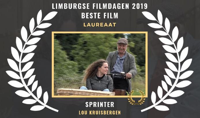 Peer Witzel en Sem Verheijden in de film 'Sprinter'.
